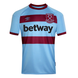 20/21 West Ham United Away Blue Soccer Jerseys Shirt