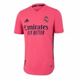 20/21 Real Madrid Away Pink Soccer Jerseys Shirt(Player Version)