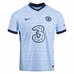 20/21 Chelsea Away Light Blue Soccer Jerseys Shirt(Player Version)