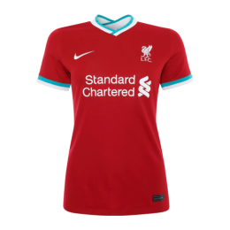 20/21 Liverpool Home Red Women's Jerseys Shirt