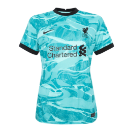 20/21 Liverpool Away Green Women's Jerseys Shirt