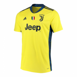 20/21 Juventus Goalkeeper Yellow Jerseys Shirt