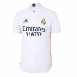 20/21 Real Madrid Home White Soccer Jerseys Shirt(Player Version)