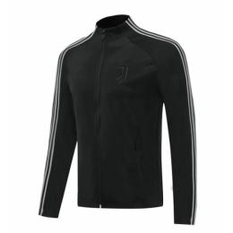 20/21 Juventus Black High Neck Training Jacket