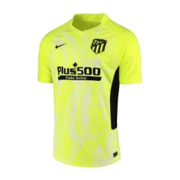 20/21 Atletico Madrid Third Away Yellow Soccer Jerseys Shirt