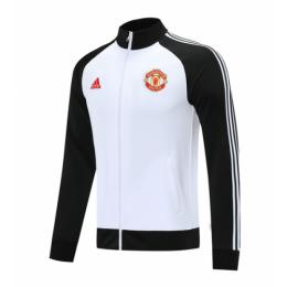 20/21 Manchester United Black&White High Neck Collar Training Jacket
