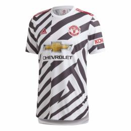20/21 Manchester United Third Away White Jerseys Shirt(Player Version)