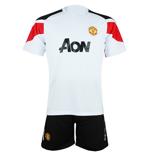 best website 89155 2fd6d 10-11 Manchester United Away Kit (without Nike logo) picture and image 1