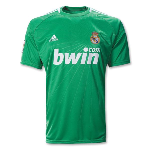 buy online 613bc 0eeee 10/11 Real Madrid Goalkeeper #1 Iker Casillas Green Soccer Jersey Shirt  Replica