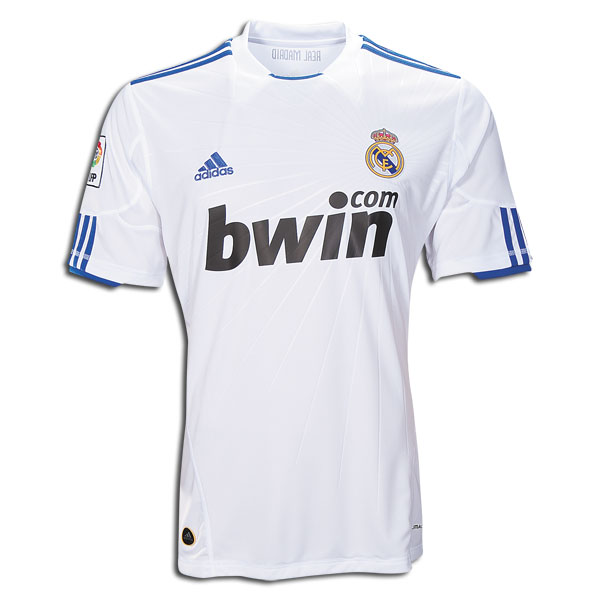 best loved 8a781 fec57 10/11 Real Madrid #7 Ronaldo Home Jersey Shirt