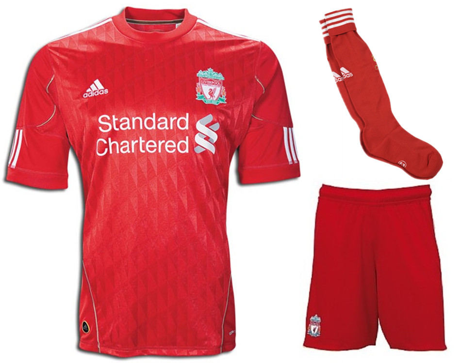 info for faa7a 472f7 10/12 Liverpool Home Jersey Whole Kit