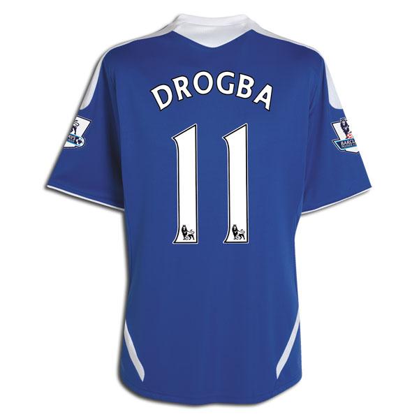 11 12 Chelsea  11 Drogba Blue Home Soccer Jersey Shirt Replica ... b5307662f