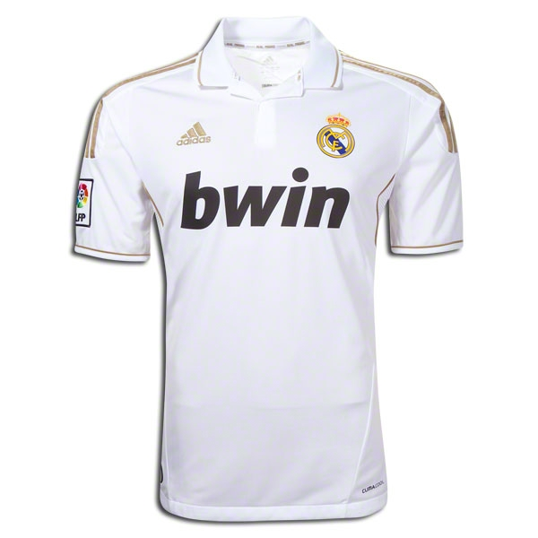 new product 44c2d 7c70a 11/12 Real Madrid #4 Sergio Ramos Home White Replica Soccer Jersey Shirt