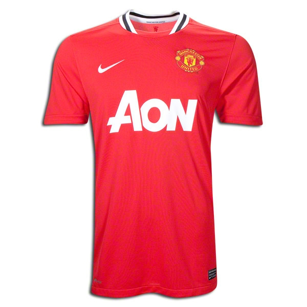 best sneakers 8d408 477b9 11/12 Manchester United #17 Nani Home Red Soccer Jersey Shirt Replica