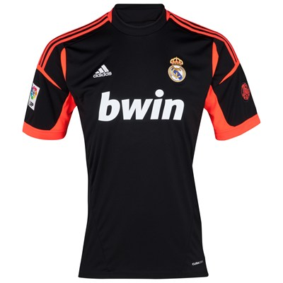 more photos 36970 caf49 12/13 Real Madrid Replica Black Goalkeeper Soccer Jersey Shirt