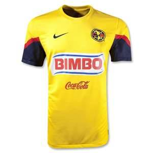9df321c2a 12 13 Club America Aguilas Rolfi  10 Home Yellow Soccer Jersey Shirt ...