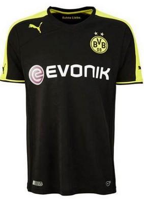 96784b812 13-14 Borussia Dortmund #9 Lewandowski Away Black Jersey Shirt ...