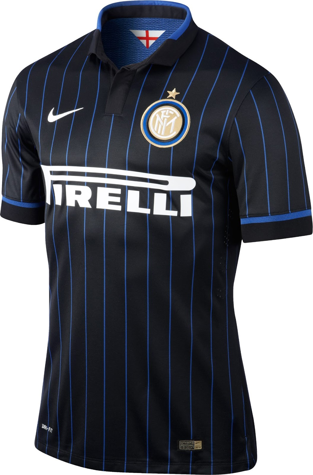 6d4f6a4f5ac 14-15 Inter Milan Home Soccer Jersey Shirt (Player Version)