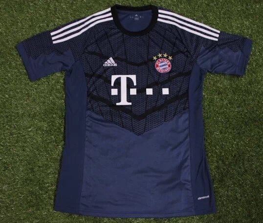 new style bf6ed eeded 14/15 Bayern Munich Black Goalkeeper Jersey Shirt