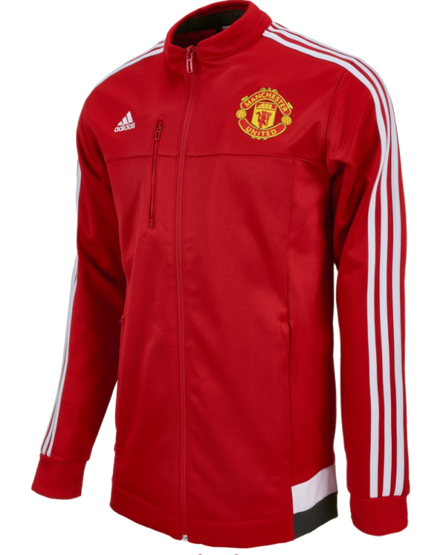 new style bdee5 eccaa 15-16 Manchester United Red Anthem Jacket
