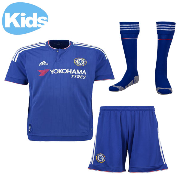 pretty nice 4a545 c4c22 15-16 Chelsea Home Children's Jersey Whole Kit(Shirt+Short+Sock)