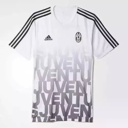 new concept 7dd41 57509 15-16 Juventus White Training Jersey Shirt