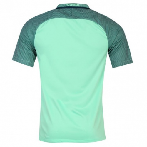 3d941e26e37 2016 Portugal Away Green Soccer Jersey Shirt. Delivery  Free Shipping  Worldwide.