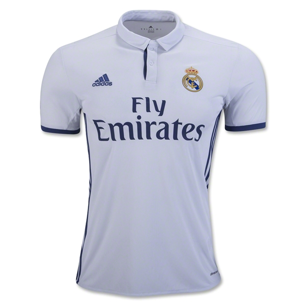 889293722ea 16-17 Real Madrid Home Pepe  3 Soccer Jersey Shirt