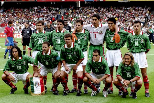 501c64523 PRODUCT INFOMATION. 1998 Mexico Retro Home Green Soccer Jersey Shirt