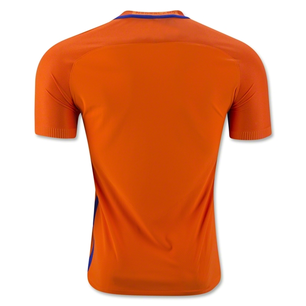 save off 3eb53 04377 2016 Netherlands Home Soccer Jersey(Player Version)