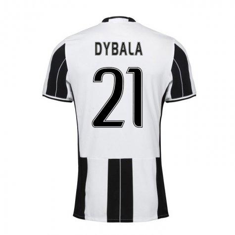new concept 77bda 790c5 16-17 Juventus Dybala #21 Home Jersey Shirt