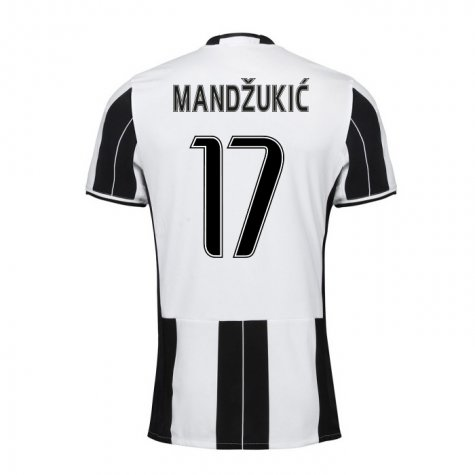 new products 7717b 21e3e 16-17 Juventus Mandžukić #17 Home Jersey Shirt