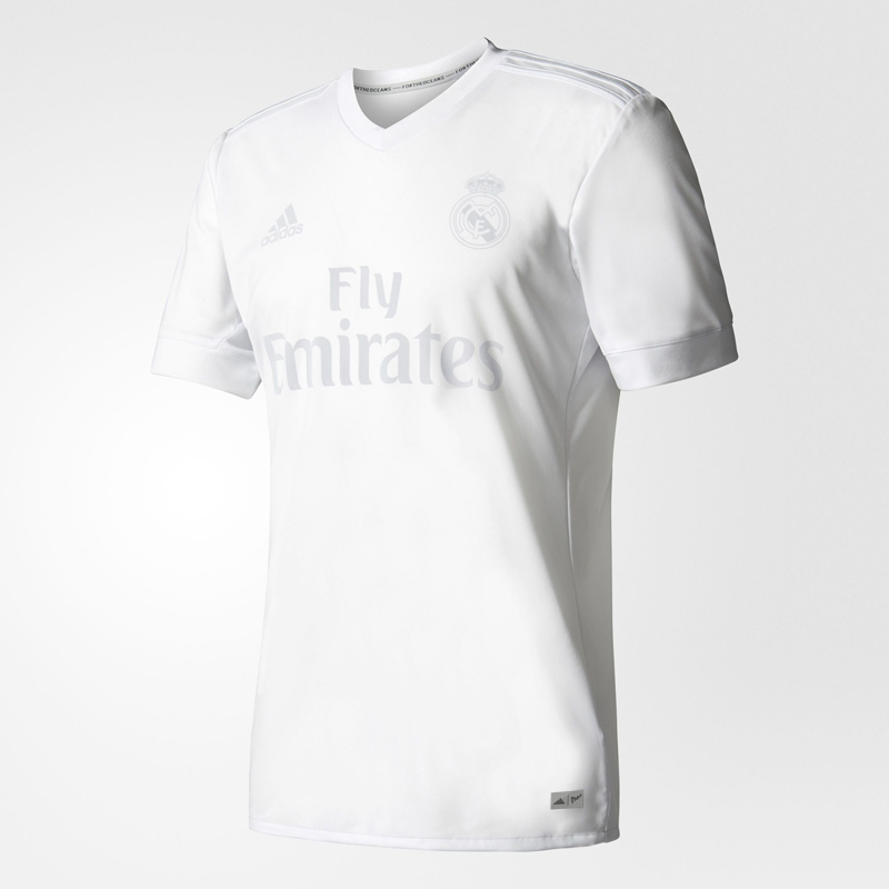 best loved 240d5 a62cb 16-17 Real Madrid Home Parley Jersey Shirt