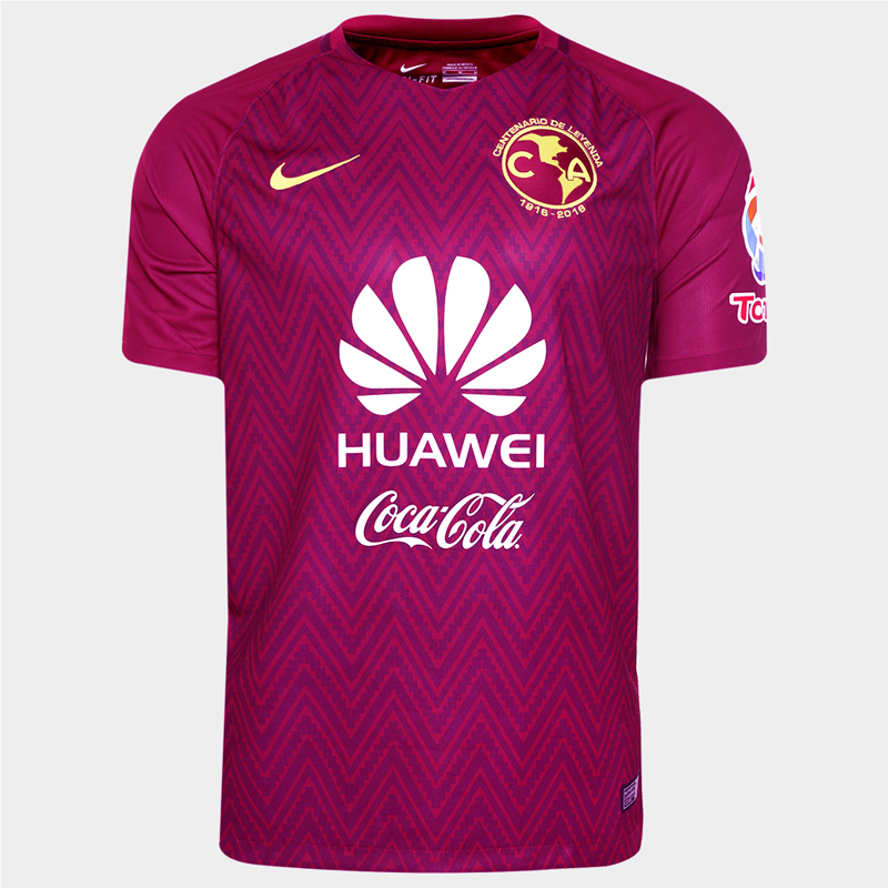 quality design 1f194 6832c 16-17 Club America Pink Goalkeeper Jersey Shirt