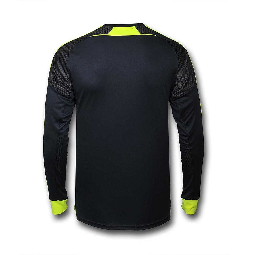 newest 82634 65246 16-17 Arsenal Third Away Navy Long Sleeve Jersey Shirt