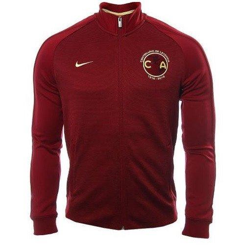 09318fbce 16-17 Club America Red N98 Track Jacket | Club America Jersey Shirt ...