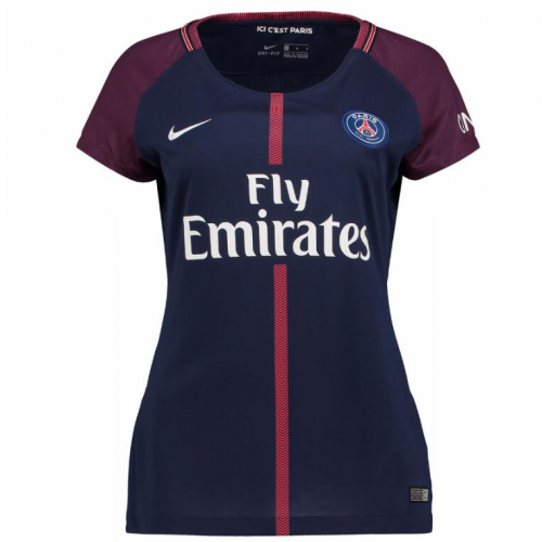 4cbd4712 PSG 17-18 Home Women's Jersey Shirt