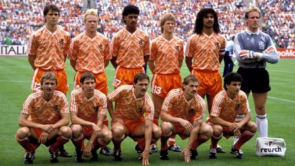 promo code feaab 7296a 1988 Netherlands Retro Home Soccer Jersey Shirt