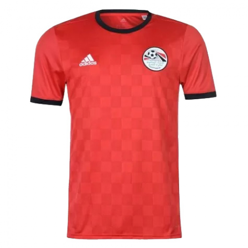 separation shoes ecb0f f2e05 2018 World Cup Egypt Home Red Soccer Jersey Shirt