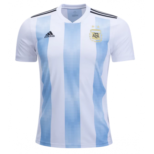 2018 World Cup Argentina Home Soccer Jersey Whole Kit(Shirt+Short+ ... e523cc6e8
