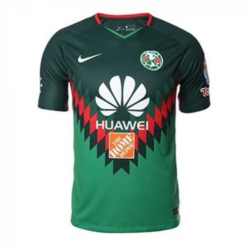 cheaper 7fe3b 18857 2018 Club America Fourth Away Green Soccer Jersey Shirt