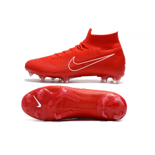 best service 062a9 ae54e NK Mercurial Superfly VI 360 Elite FG Soccer Cleats-Red