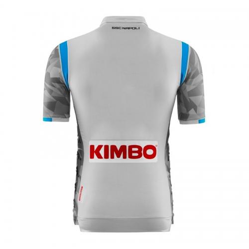 online store 1f494 74928 18-19 Napoli Third Away Gray Soccer Jersey Shirt