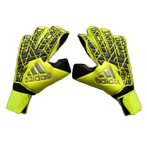 release date 658be a7c50 Adidas ACE Trans Pro Fluorescence Green Goalkeeper Glove