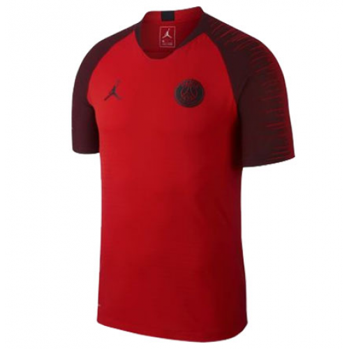 finest selection b35a1 bf3f1 18-19 PSG JORDAN 3rd Away Red Training Jersey Shirt