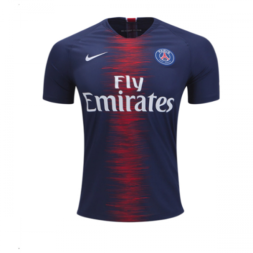 low priced ccc5d 3ff98 18-19 shirt Psg Kit Soccer Home short Jersey lacquer ...