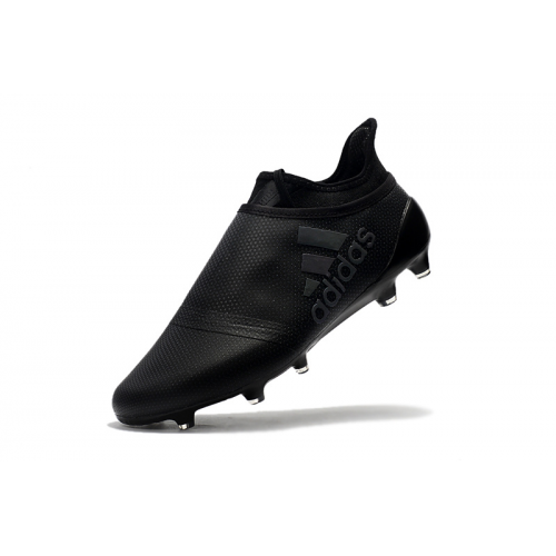 79322b017 AD X 17+ Purechaos FG Soccer Cleats-All Black. Delivery: Free Shipping  Worldwide.