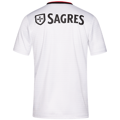 sports shoes cb3a8 562f4 18-19 Benfica Away White Soccer Jersey Shirt