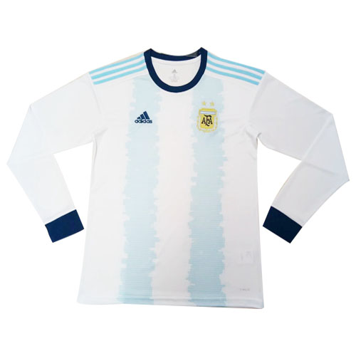 Retro Argentina Home Long Sleeve Jersey 2019 By Adidas