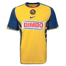 premium selection 83ad6 4049d 10-11 Club America Aguilas Home Jersey Shirt